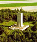 Sommepy Memorial from the air
