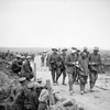 Walking Wounded near Guillemont